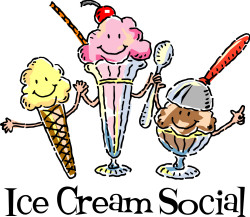 Ice Cream Social July 31, 2016